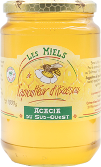 Photo pot miel acacia 1kg
