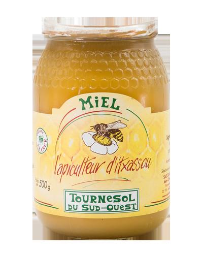Photo du pot de miel